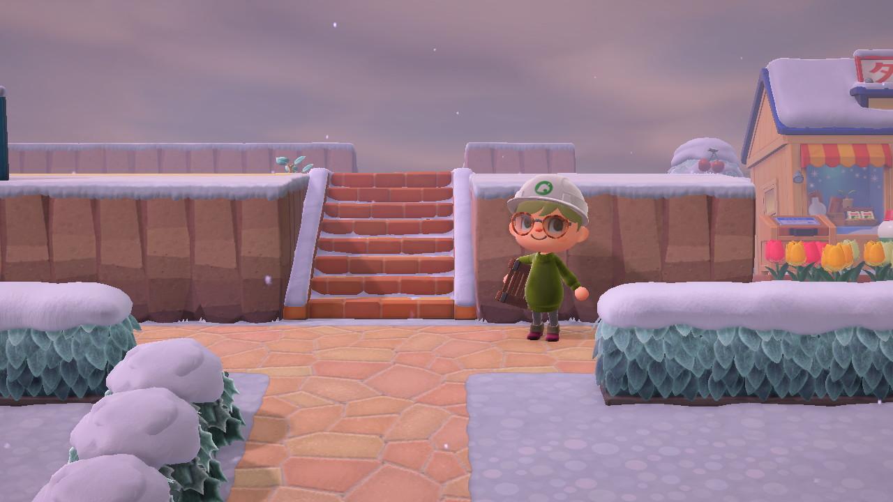階段を作る あつ森